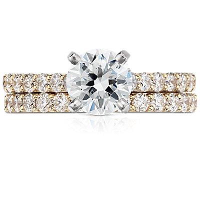 Pavé Diamond Ring in 18k Yellow Gold (1/2 ct. tw.)