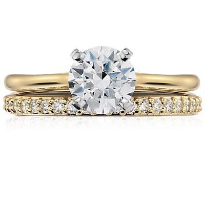 Pavé Diamond Eternity Ring in 18k Yellow Gold (1/2 ct. tw.)