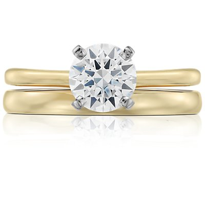 Classic Wedding Ring in 18k Yellow Gold (2mm)