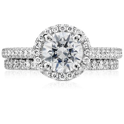 Pavé Diamond Eternity Ring in Platinum