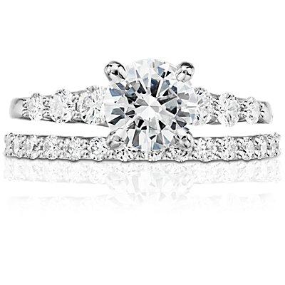Luna Diamond Ring in Platinum (1/3 ct. tw.)