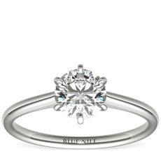 1 Carat Astor Petite Nouveau Six-Claw Solitaire (F/VS2) Ready-to-Ship