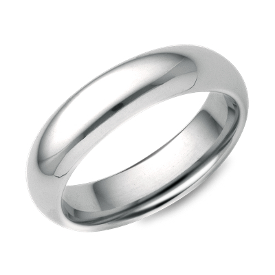 Wedding rings bands white gold