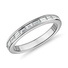 The Gallery Collection™ Baguette-Cut Diamond Eternity Ring in Platinum (1 1/10ct. tw.)