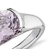 Rose de France Oval Ring in Sterling Silver (10x8mm)