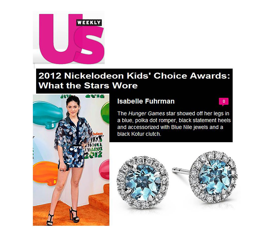 US Weekly - 2012 Kids' Choice Awards de Nickelodeon : Ce que les stars portent