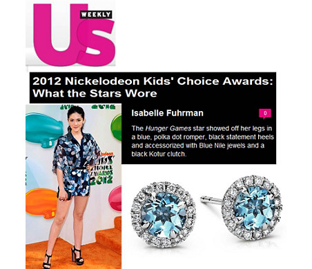 US Weekly - Nickelodeon Kids' Choice Awards de Nickelodeon 2012: el estilo de las estrellas