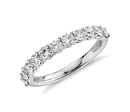 Aria Diamond Ring in 18k White Gold (0.96 ct. tw.)