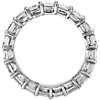 Asscher Cut Diamond Eternity Ring in Platinum (4  ct. tw.)