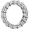 Asscher Cut Diamond Eternity Ring in Platinum (7 ct. tw.)