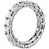 Asscher Cut Diamond Eternity Ring in Platinum (5.45 ct. tw.)