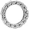 Asscher Cut Diamond Eternity Ring in Platinum (9.50 ct. tw.)