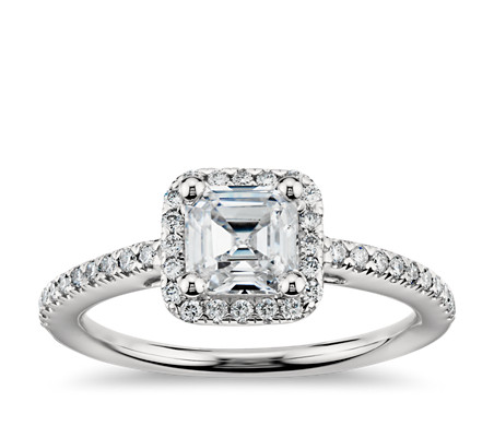 engagement your pairing cut ring stone band with blog a asscher for tips wedding rings three