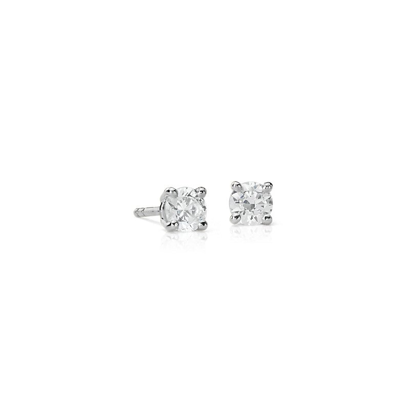 Astor Diamond Stud Earrings in Platinum (5/8 ct. tw.) - H / SI2