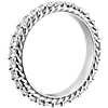 Bella Vaughan for Blue Nile Grandeur Rope Diamond Ring in Platinum (1 1/2 ct. tw.)