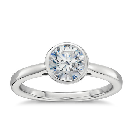 in blue diamond ring petite pav ca platinum ct own engagement your pave tw setmain build