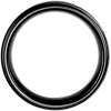 Brushed and Polished Comfort Fit Wedding Ring in Black Tungsten Carbide (9mm)