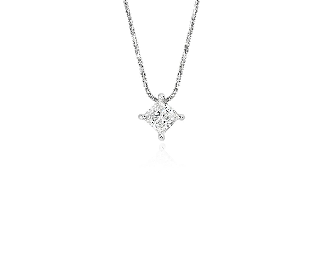 Blue Nile Signature Princess Cut Floating Diamond