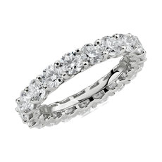 NEW Blue Nile Studio Diamond Cloud Eternity Band in Platinum (3 ct. tw.)