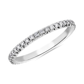 Blue Nile Studio Heiress Diamond Ring in Platinum (1/3 ct. tw.)