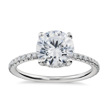rd rings setmain engagement build tw pav own diamond your ca french pave platinum ct ring in halo