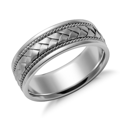 Braid wedding ring