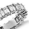 Brilliant Emerald Cut Diamond Eternity Ring in Platinum (5 ct. tw.)