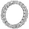 Brilliant Emerald Cut Diamond Eternity Ring in Platinum (5 ct. tw.)