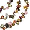 Cabernet Keshi Freshwater Cultured Pearl Necklace - 72