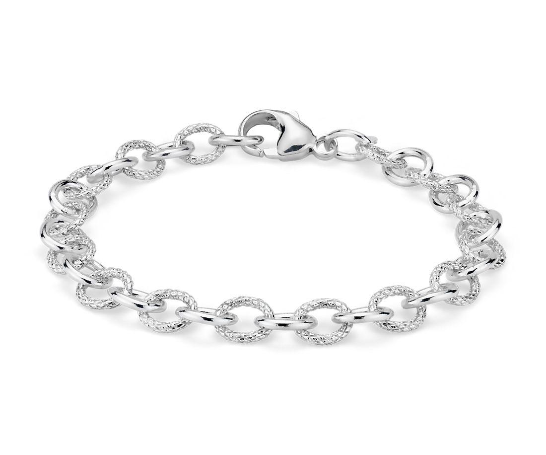 925 純銀 鏈狀手鍊
