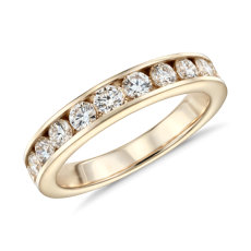 Channel Set Diamond Ring in 14k Yellow Gold (1 ct. tw.)