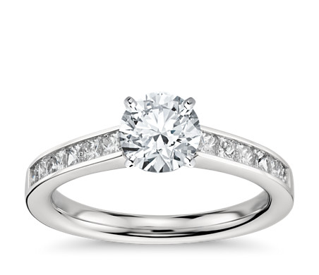product ring cut engagement diamond rings princess carat
