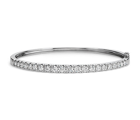 d single pave amore jewelers diamond bangles bangle gold roberto products product bracelet square coin white