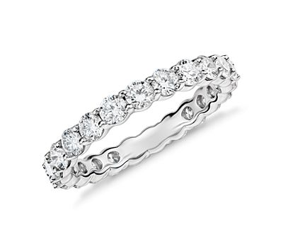 Classic Diamond Eternity Ring in Platinum
