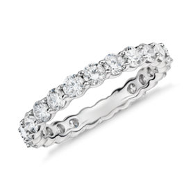 Classic Diamond Eternity Ring in Platinum (2 ct. tw)