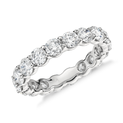 Classic Diamond Eternity Ring in Platinum (5 ct. tw.)