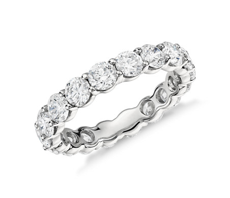 Classic Diamond Eternity Ring in Platinum (3 ct. tw)