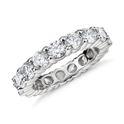 Classic Diamond Eternity Ring in Platinum (4 ct. tw.)