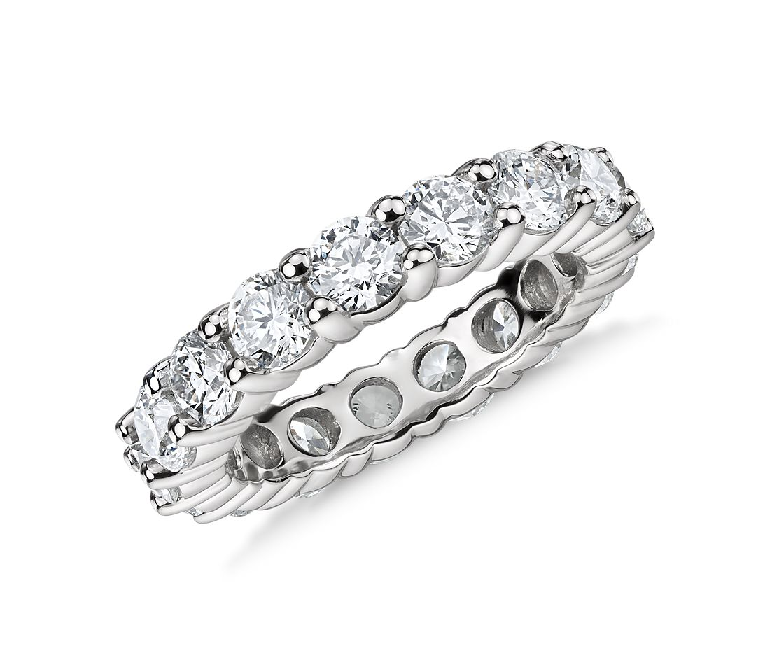 Classic Diamond Eternity Ring in Platinum, 4 ct. tw.