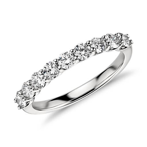 Belle Classic Diamond Ring in Platinum (3/4 ct. tw.)