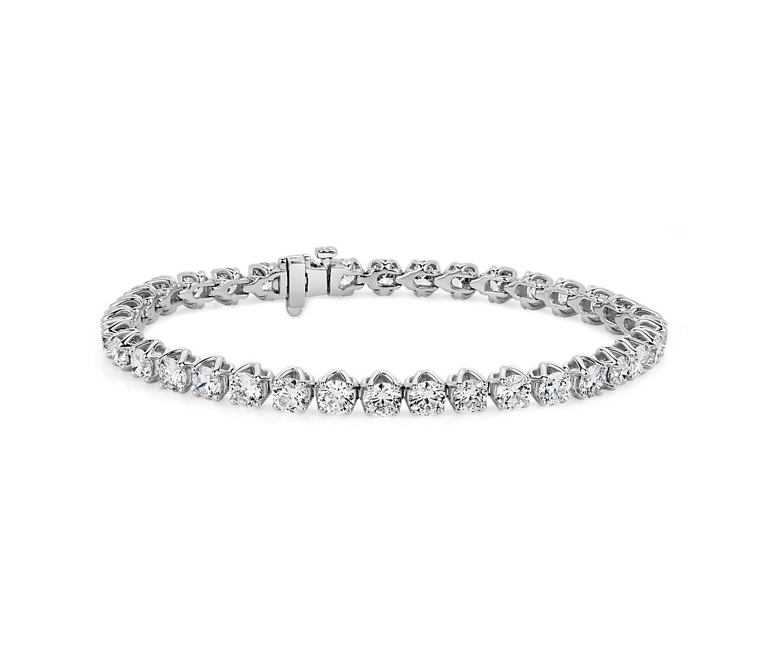 Classic Diamond Tennis Bracelet in 14k White Gold (9.9 ct. tw.)