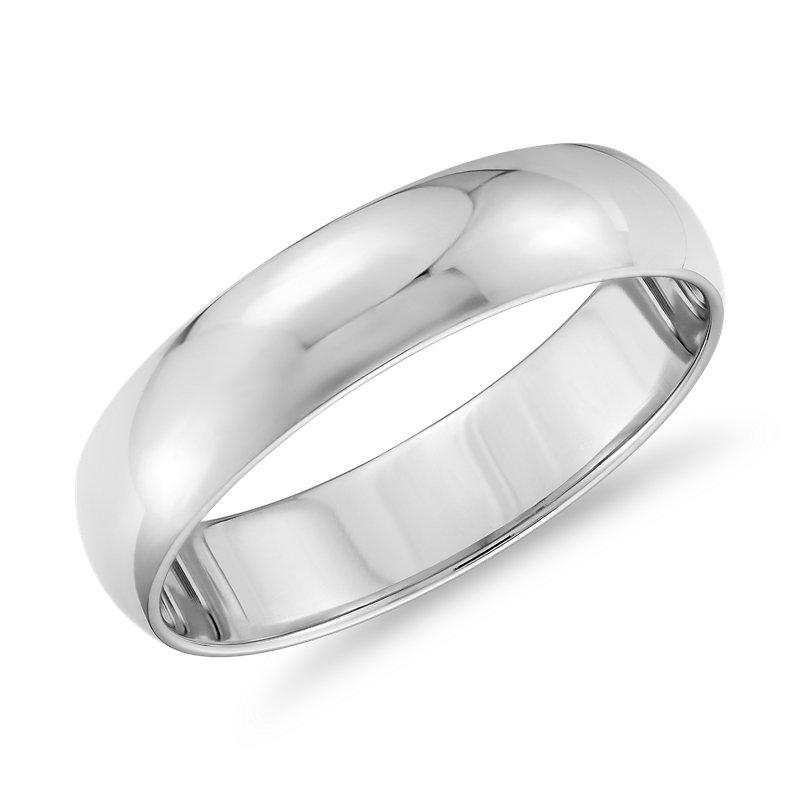 Classic Wedding Ring in Platinum (5mm)