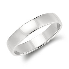Clic Wedding Ring In Platinum 5mm