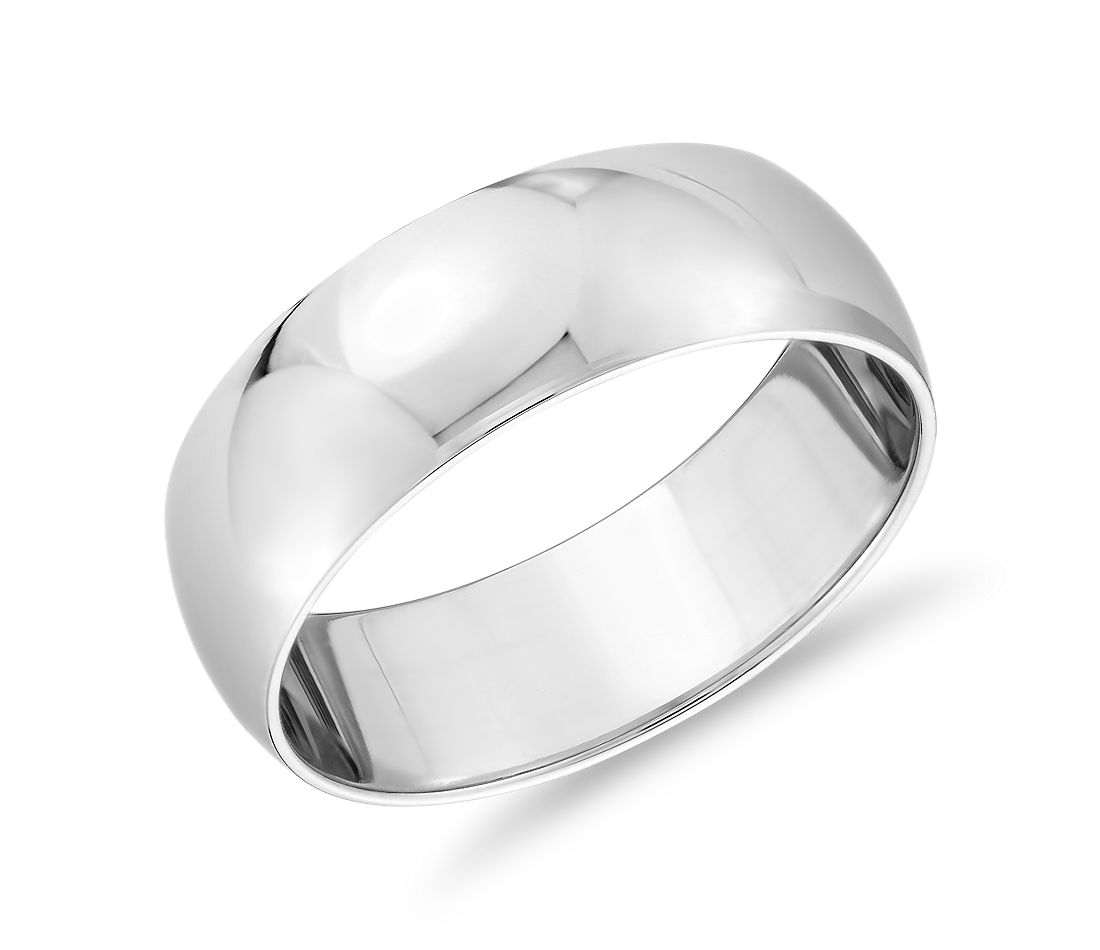 Classic Wedding Ring in Platinum (7mm)
