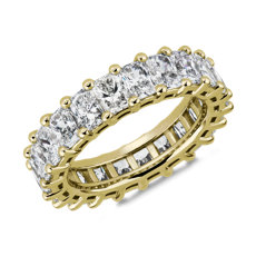 Classic Radiant-Cut Diamond Eternity Ring in 18k Yellow Gold (5 1/2 ct. tw.)