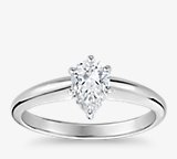 Classic Simple Solitaire Engagement Ring
