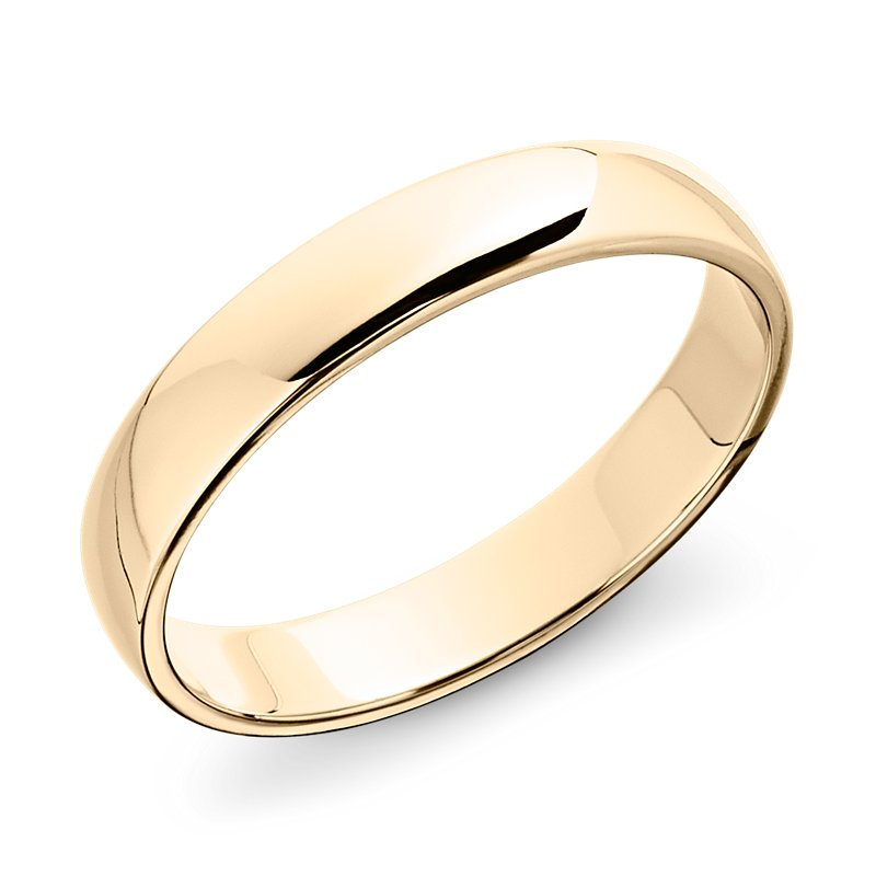 Classic Wedding Ring in 14k Yellow Gold (5mm)