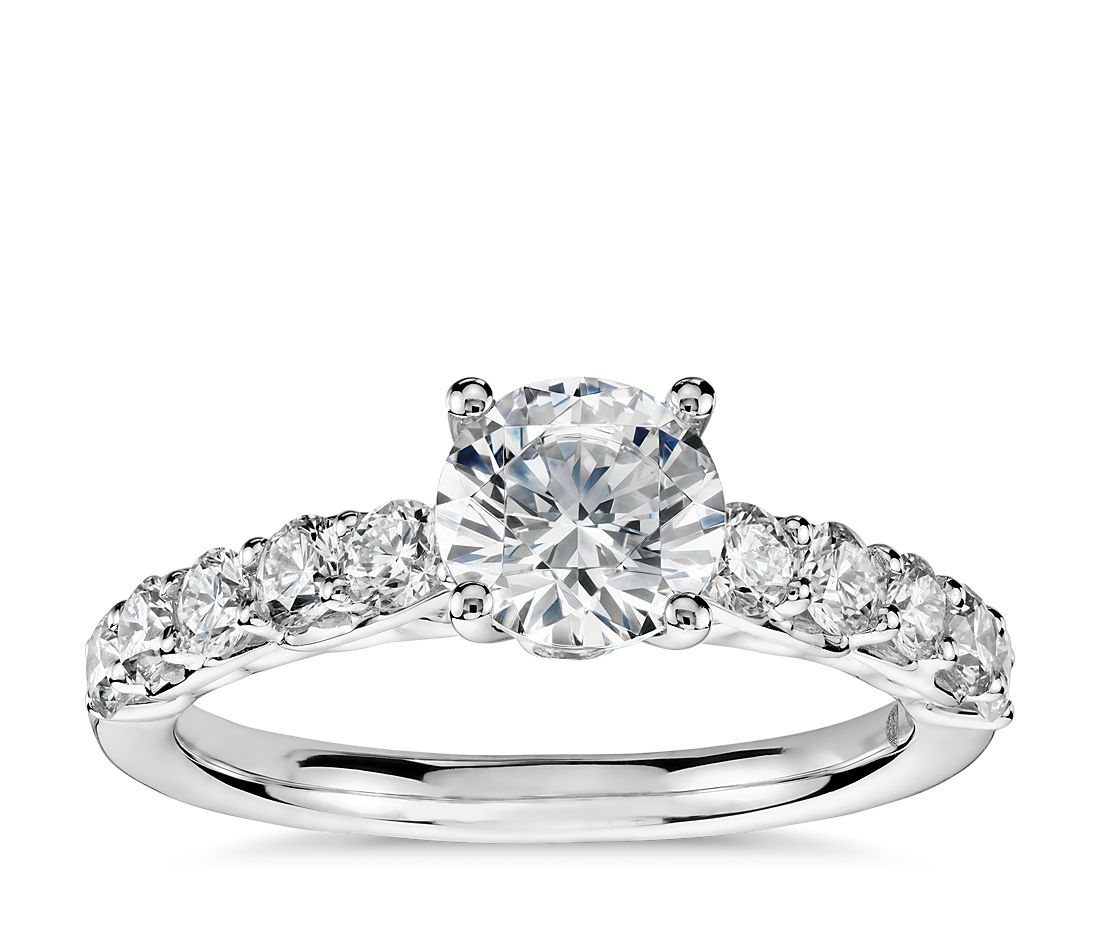 Colin Cowie Cathedral Diamond Engagement Ring in Platinum (3/4 ct. tw.)