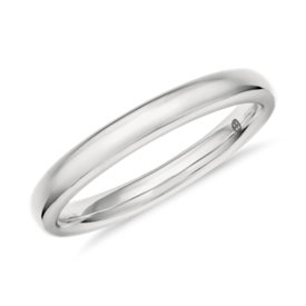 Colin Cowie Classic Wedding Ring in Platinum