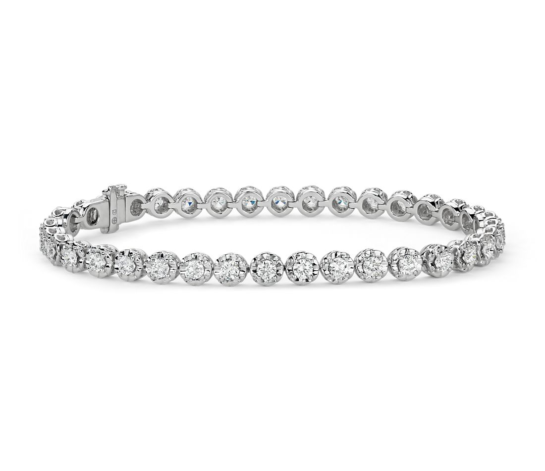 Colin Cowie Diamond Bracelet In 14k White Gold 3 0ct Tw